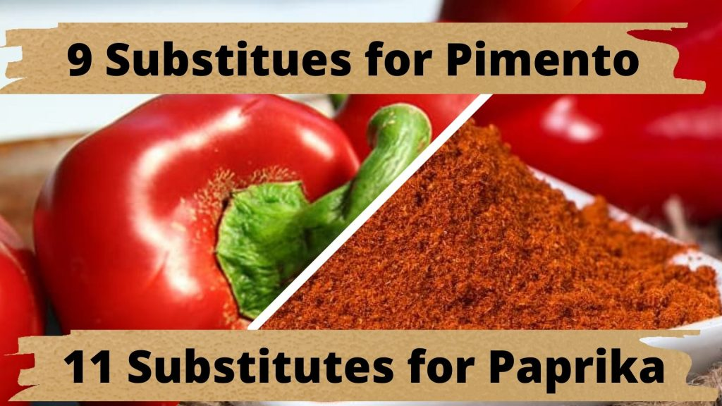Substitute for pimento