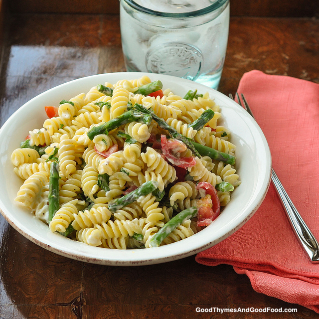 Goat Cheese with Pasta